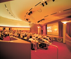 Beautiful photo of the Monona Terrace Lecture Hall