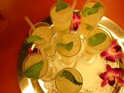 Pink Grapefruit Mojitos are a festive and delicious choice