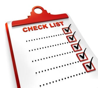checklist reduced