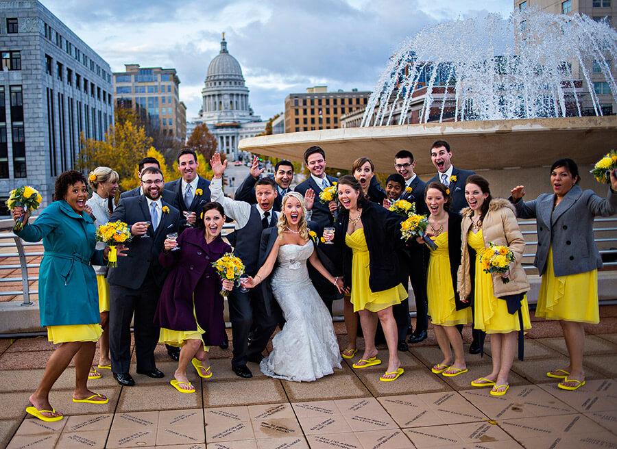 Monona Terrace Wedding