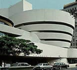 The Guggenheim Museum in New York City with its fluid, curvilinear form similar to Monona Terrace