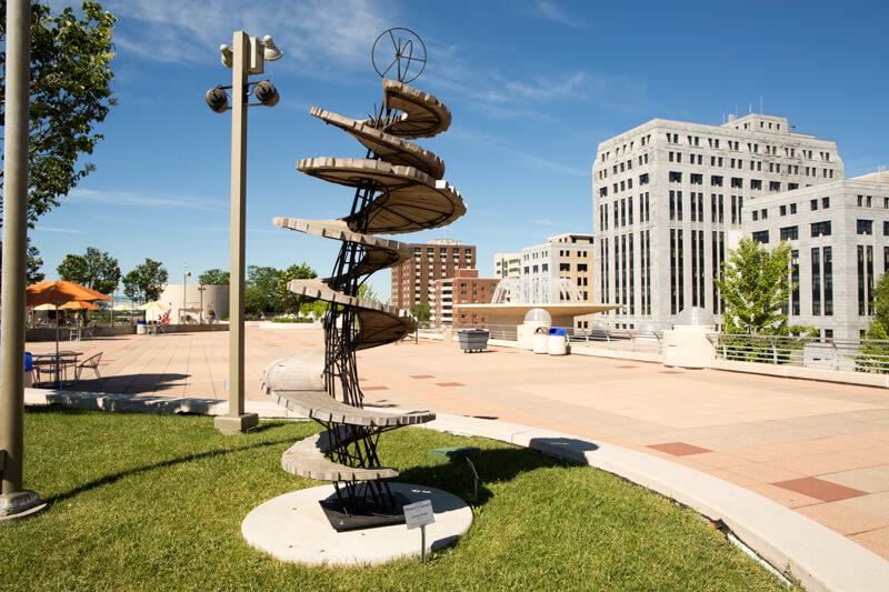 Monona Terrace Sculpture Onward and Upward