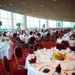 Beau Peterson Photography of a banquet hall with tables and chairs