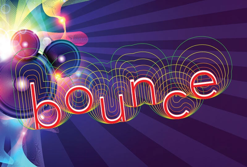 bounce graphic