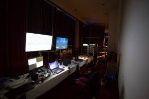 AV Control Backstage Monona terrace