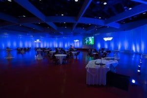 Monona Terrace Custom Colored Lighting