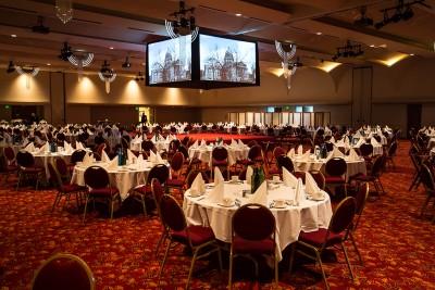 Monona Terrace Ballroom Center Stage Screens