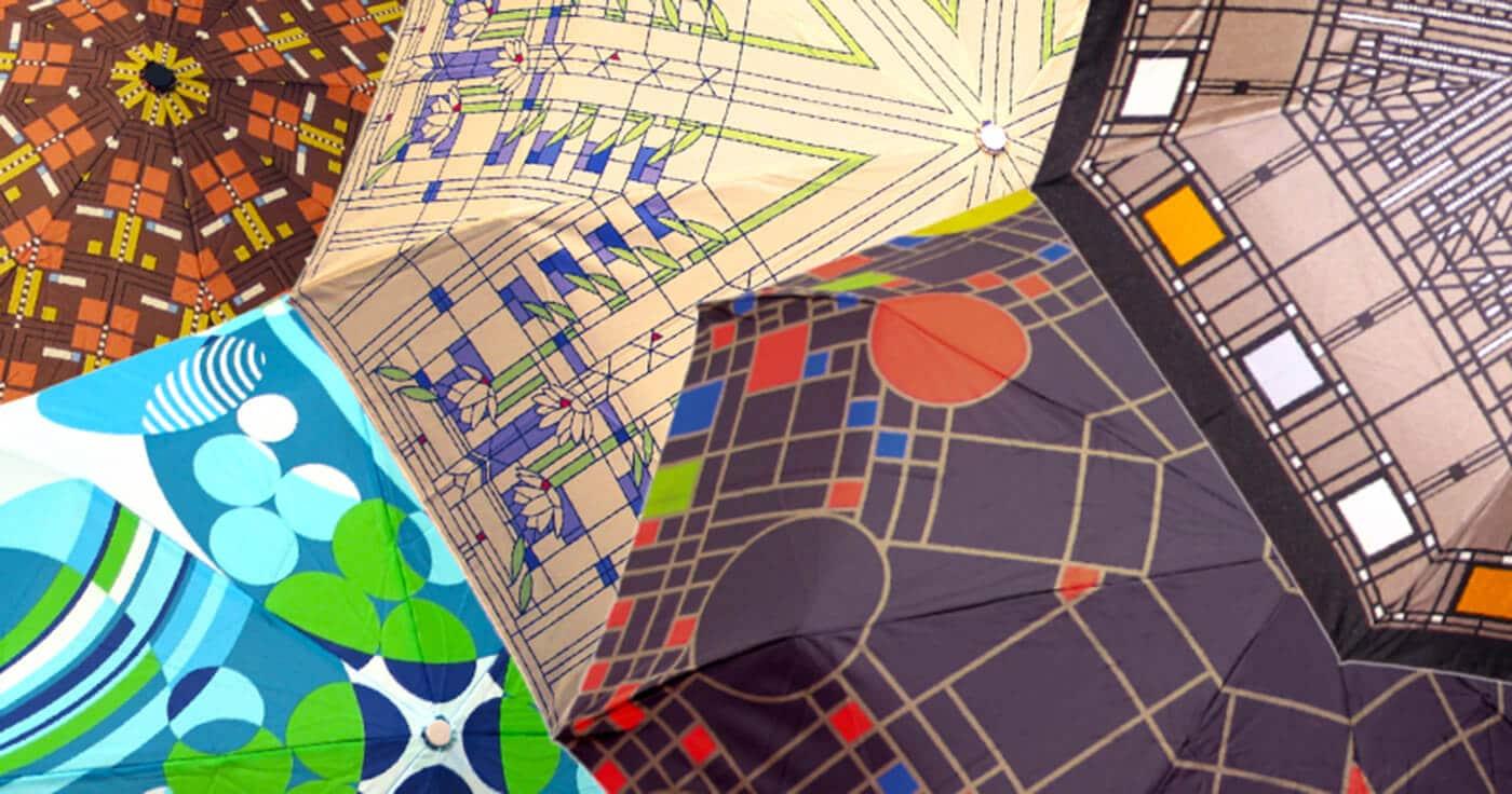 Monona Terrace Frank Lloyd Wright design Umbrellas