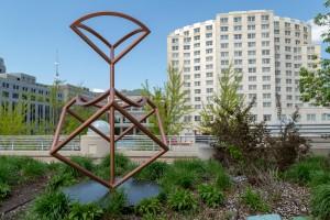 Monona Terrace Rooftop Sculpture Boolean Still Life
