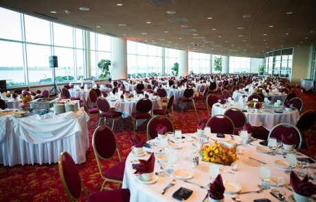 Monona Terrace Community Terrace Wedding Reception
