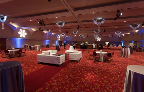Monona Terrace Ballroom Bar and lounge area