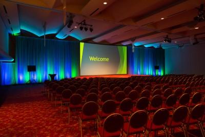 Monona Terrace Hall of Ideas AV Set