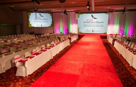 Monona Terrace Wine Woman & Shoes Runway