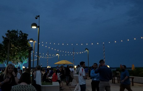 Monona Terrace Rooftop String Lights