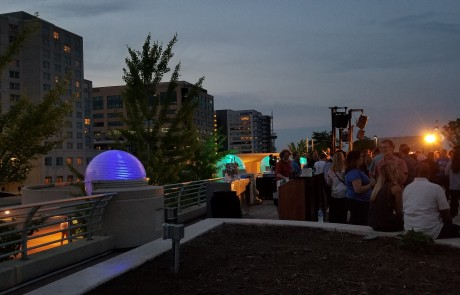 Monona Terrace Rooftop Event Party