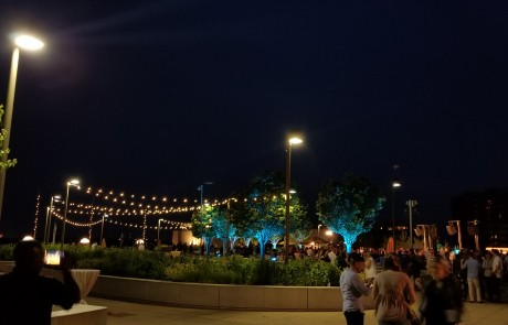 Monona Terrace Rooftop event