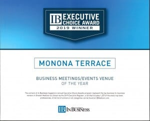 2019 IB Executive Choice Award to Monona Terrace