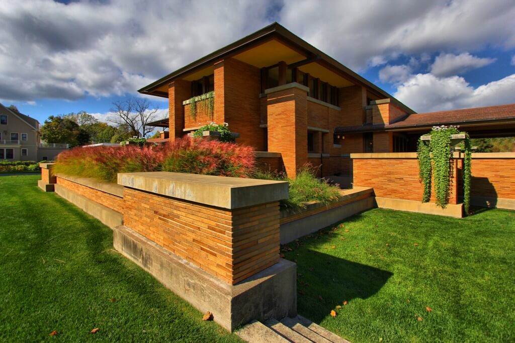 Picture of a Frank Lloyd Wright House in Western New York